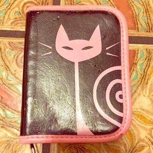 💕RedTango Pink/Black Card Wallet